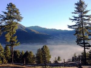 Gangtey, Phobjikha shrouded in cloud has another apeal