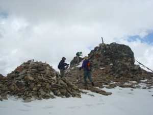 Guets at Higher Pass on the way to Jhomolari trek