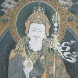 Mural Painting of Guru at Tango Monastery (Bhutan)