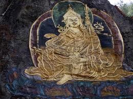 Rock painting of Guru