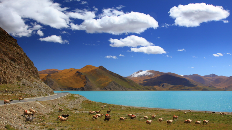 Yamdrok Tso (Tibet)