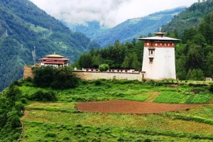 Dobji Dzong- Alcatraz of Bhutan converted into Monastery on the way to Haa