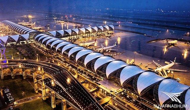 Suvarnabhumi-airport (Bangkok, Thailand)
