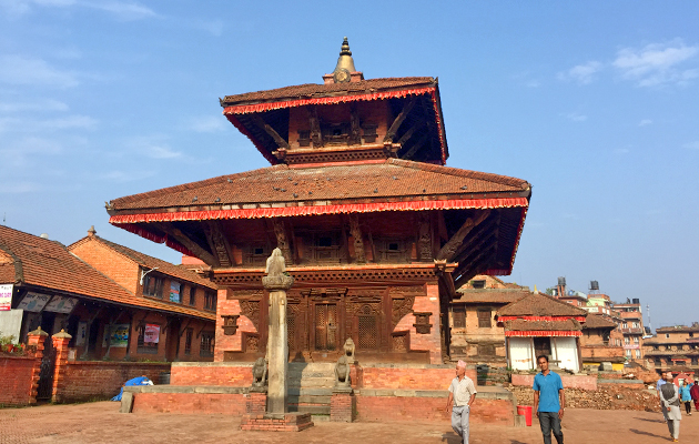 Bhaktapur - Dattatraya Square, Dattatraya Temple.