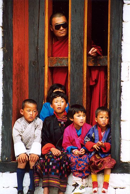 At Thimphu Festival