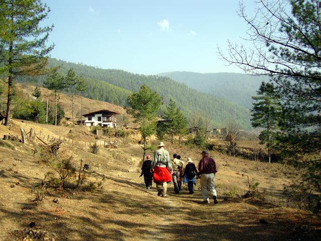 Begana to Pangri Zampa village walk