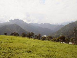 View from Panbang Dunkhang airfield