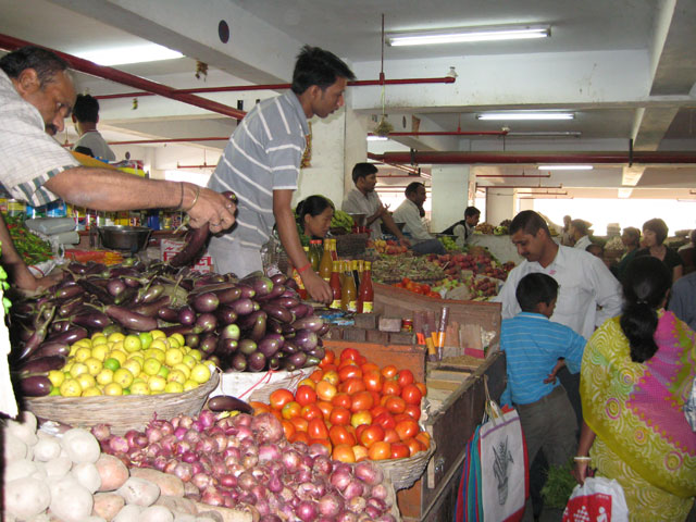 Gangtok Vegetable Market