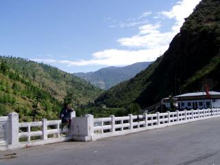 Thimphu to Paro Road