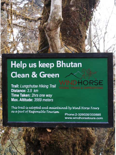 bhutan clean and green