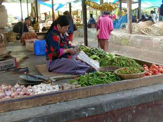 Weekend Market of Thimphu