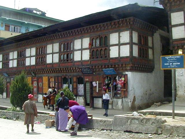 Thimpu Main Street