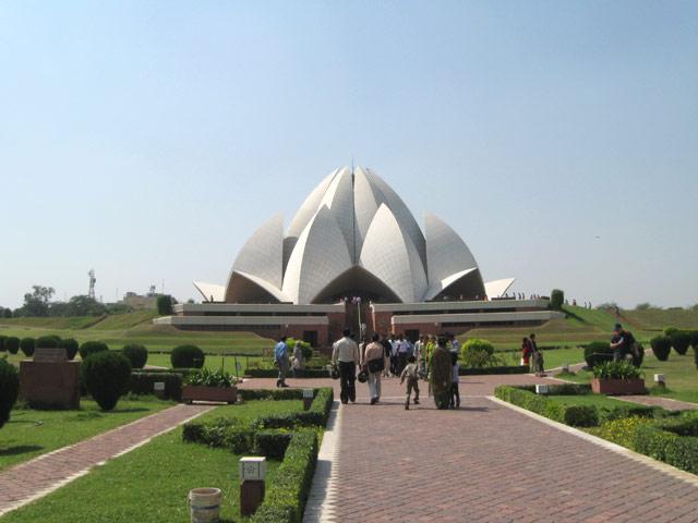 Lotus Temple Baha I Temple New Delhi India