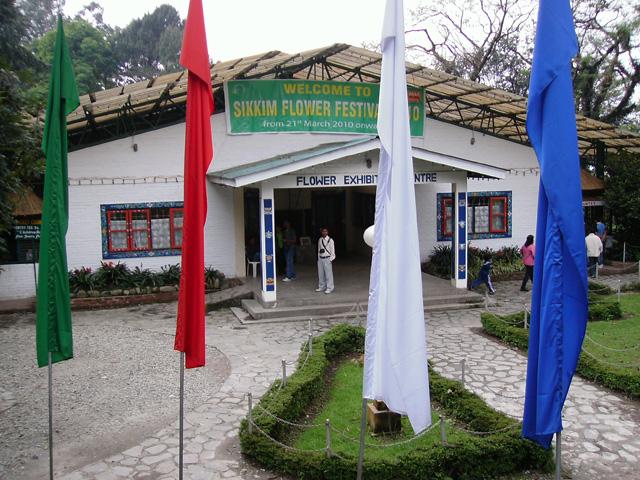 Flower exibition centre
