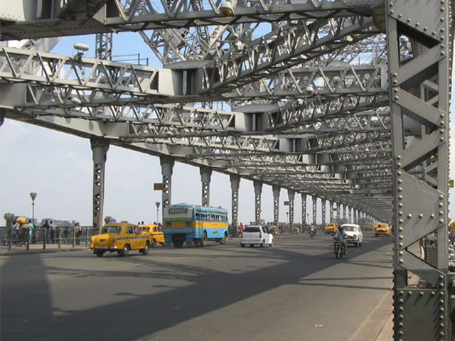 Howrah Bridge Kolkata India