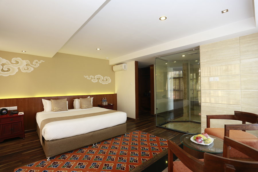 Hotel shambala windhorse hotels for Room design in nepal
