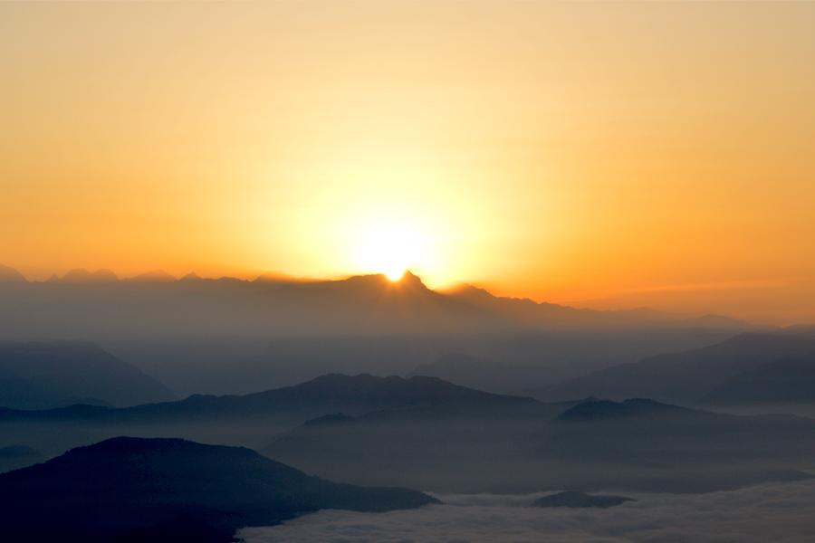 Sunrise View from Nagarkot
