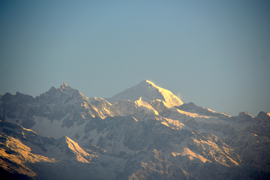 View of Mountain Range from Nagarkot
