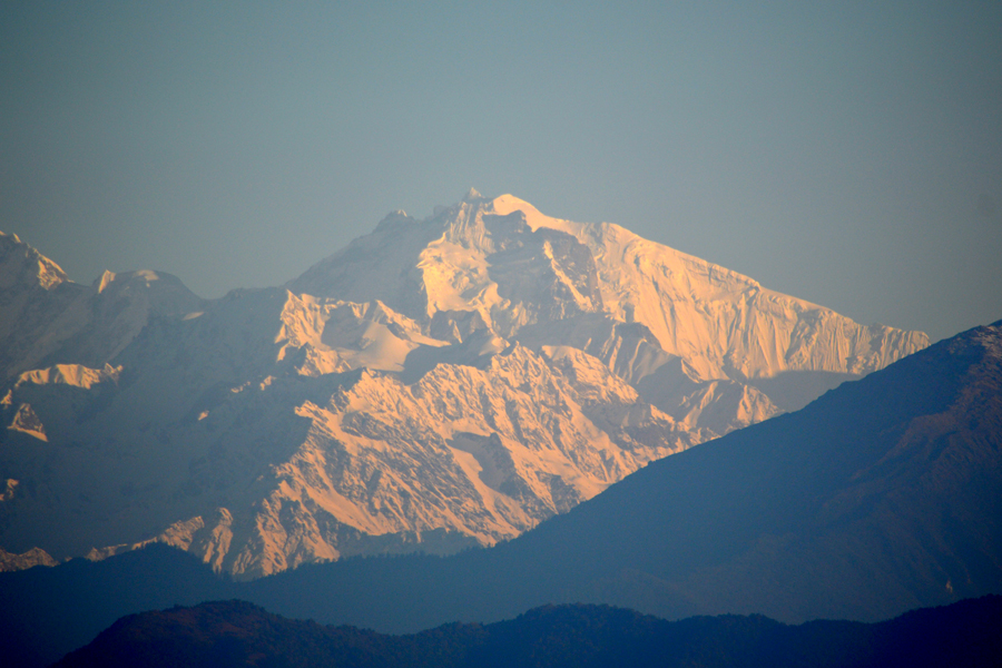 View of Mountain from Nagarkot