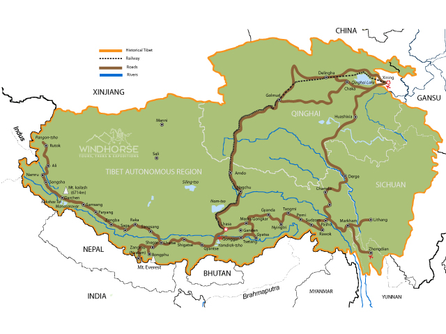 Historic Tibet