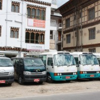 In front of Thimphu office