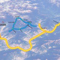 Drukpath Trek Map