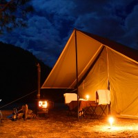 WInd Horse Tours Deluxe Camping