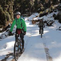 Moutain Biking across Bhutan