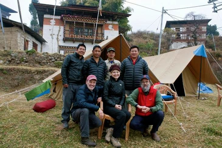 Nabji Korphu Trek (Guests with trekking crew member) January 2015