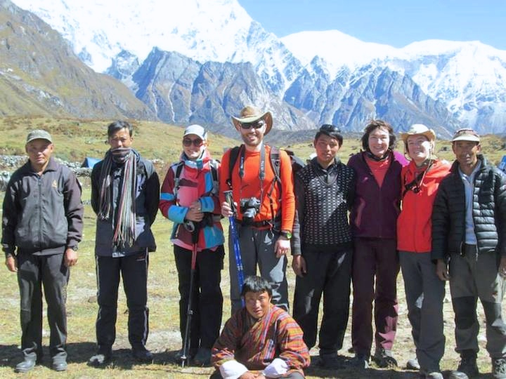 Trekking crew (Snowman Trek) Oct 2014. Courtesy Kirill & Olga