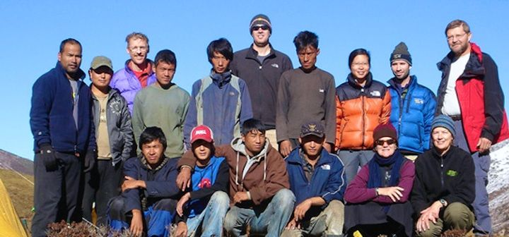 Wind Horse Tours Trekking Guide & Crew members