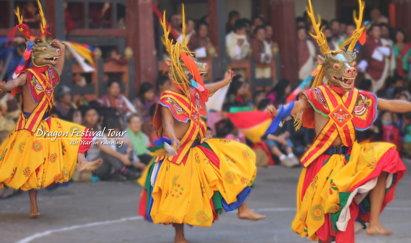 Bhutan Dragon Festival Tour
