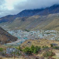 A beautiful village Khumjung