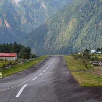 Lukla airport which is consider one of the dangerous airport in the world