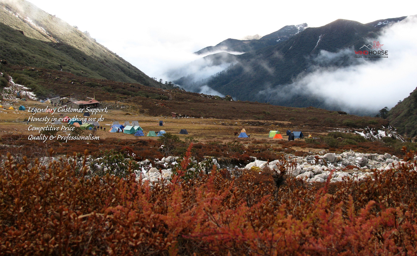 Above The Clouds – Chomolhari to Laya Gasa Trek