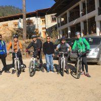 Wind Horse Biking team in Phobjika