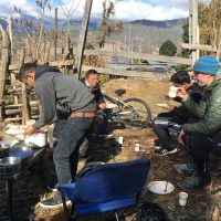 Lunch in open near Khotaka Village (Phobjika)