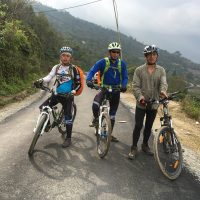 A few paved road Whilst trip from Haa to Phuentsholing