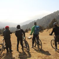Wind Horse team in Phobjika valley