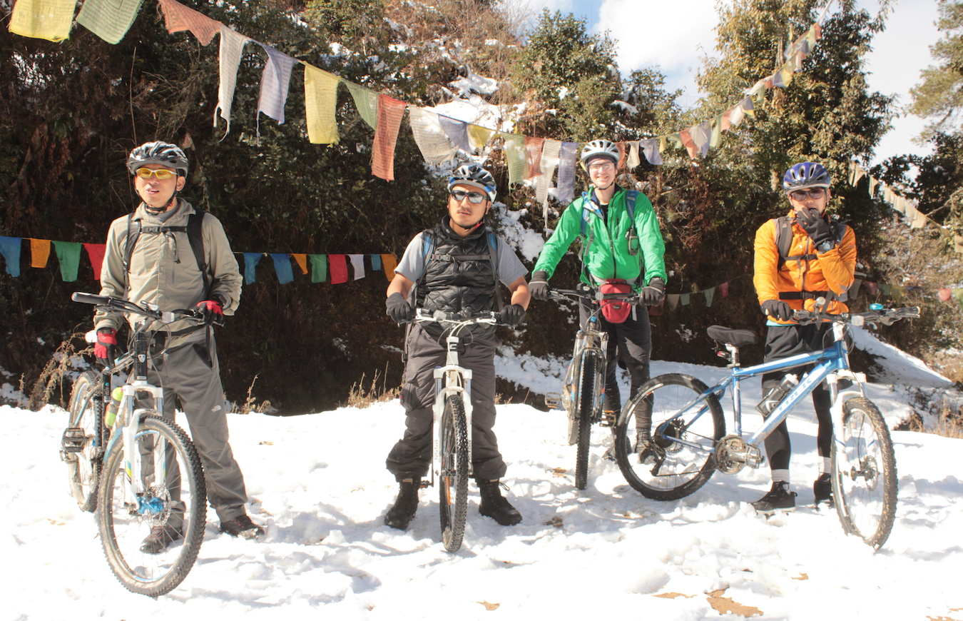 Bhutan Mountain Biking Photo Gallery