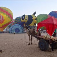 Hot Air Ballooning in Pushkar