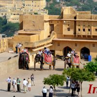Elephant Ride at Amber Fort - Jaipur