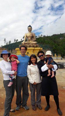 Bhutan Country Walk for Catherine & Family.