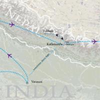 india-nepal-bhutan-odyssey-map