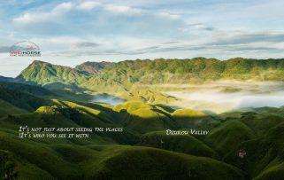 Dzukou Valley & Japfu Peak Trek - Nagaland.