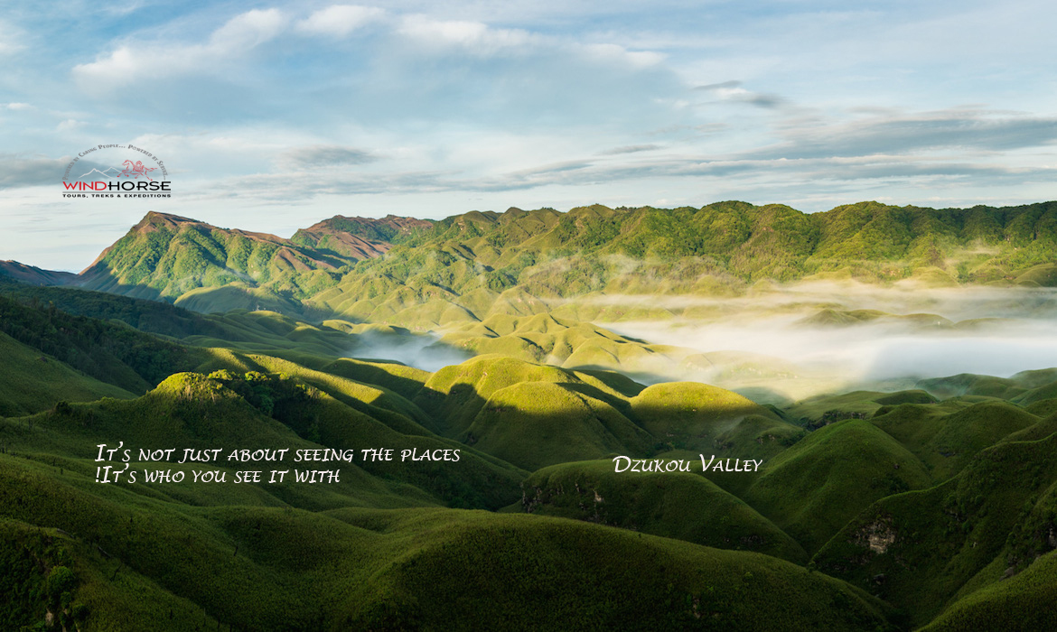 Dzukou Valley & Japfu Peak Trek – Nagaland.